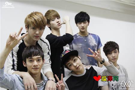 EXO说说带图片,关于关于exo的说说大全